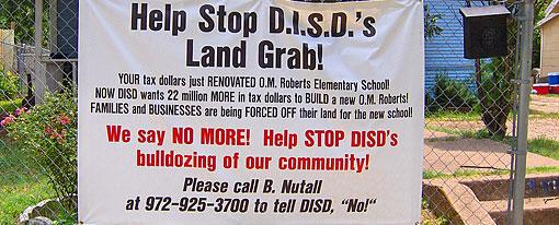 Stop DISD's Land Grab For Our Neighborhood