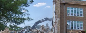 Update 102-year-old elementary school being demolished